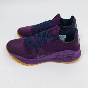 Under Armour Curry 4 Low Sneakers Merlot Mens
